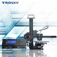 Tronxy X1 3D Printer I3 Impresora Pulley Version Linear Guide Imprimante LCD Display DIY High Precision Print Support Off-line