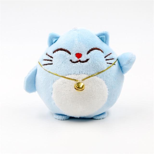 Doux chat 10CM porte-clés en peluche peluche poupée, cadeau de mariage