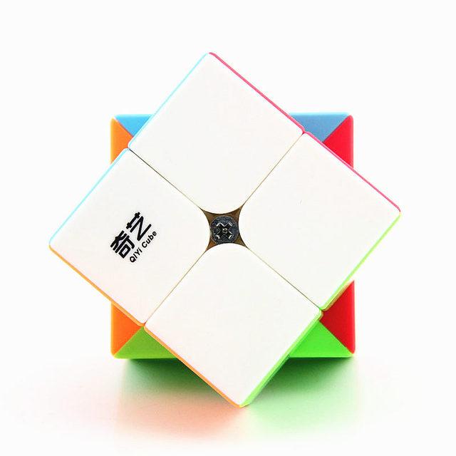 Qiyi Warrior S 3x3x3 Magic Puzzle Cube Professional QIDI S 2x2x2 Stickerless Speed Cubes 2×2 3×3 Cube Toy For Childre Qiyi cube