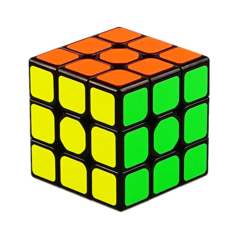 QiYi QiHang W 3x3 Magic Cube Mofangge Sail Speed Cube 3x3x3 5.6 Cm Cubo Magico Educational Puzzle Cube Toys For Children Gift