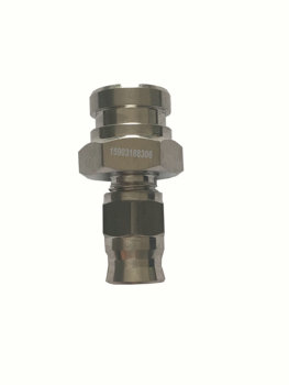 An3 a m10x1.25 ou m10x1.0 acessórios de linha de freio fêmea material de aço inoxidável