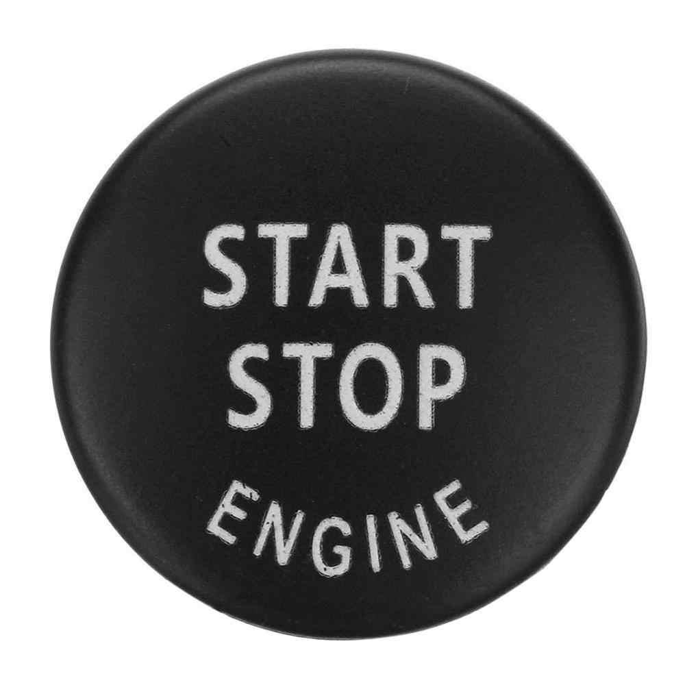 Mobil Mesin Mulai Tombol Mengganti Cover Switch Aksesoris Kunci Dekorasi untuk BMW X1 X5 E70 X6 E71 Z4 E89 3 seri 5 E90 E91 E60 Baru