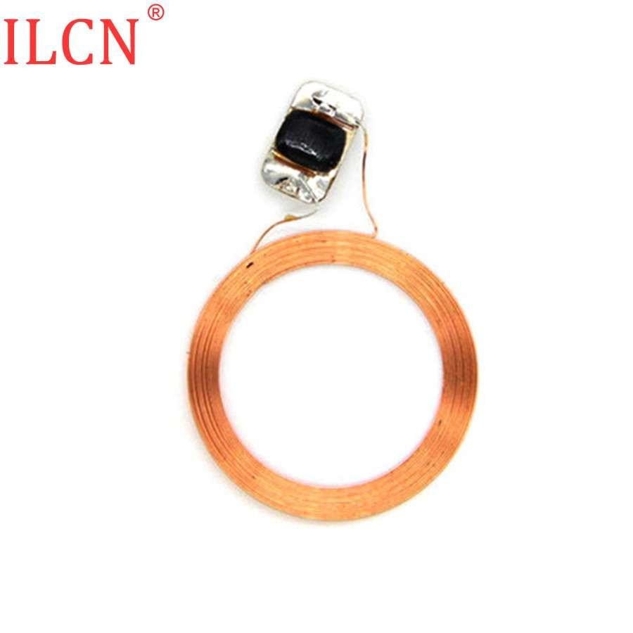 S50 1K IC 13,56 МГц FM11 RF08 MF F08 ключ брелок с кольцом теги RFID NFC круговой Медь линия голая катушки чип доступа Управление ключ-1 шт.