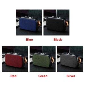 Image 5 - Laptop głośnik Tablet Smartphone FM bezprzewodowy akumulator Mini przenośny Bluetooth domu karta tf do głośnika dźwięk radia Surround