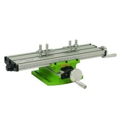 LY 6300 miniaturowa precyzyjna wielofunkcyjna frezarka wiertarka stołowa imadło oprawa stół roboczy regulacja osi XY stół współrzędnych w Frezarki do drewna od Narzędzia na