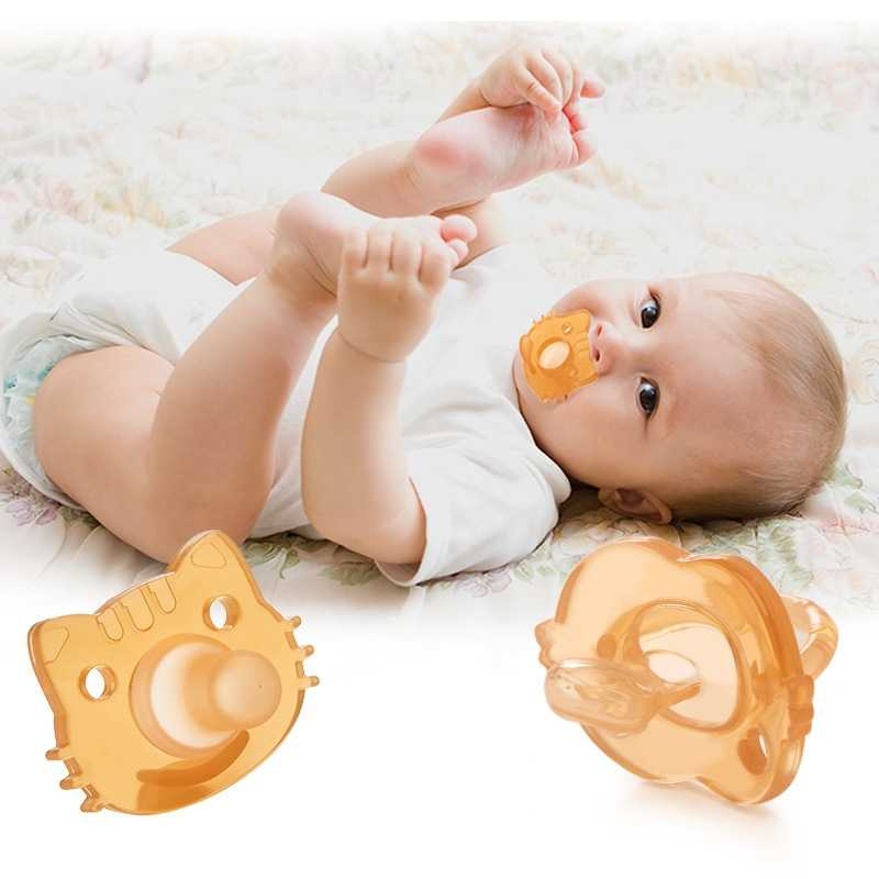 1PCs Cartoon Baby Pacifier Newborn Kids Infant Toddlers Baby Orthodontic Soft Silicone Dummy Pacifier Nipple Feeding Accessories
