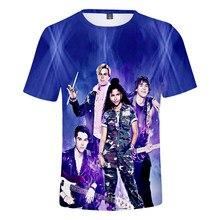 3D O-Neck Men's Women T-shirt Julie and the Phantoms T-shirt Harajuku Summer Kids Short Sleeve Streetwear Sunset Curve Tops