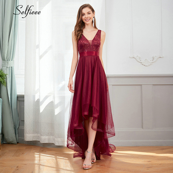Sexy Sparkle Maxi Dress Women Asymmetrical Double V-Neck Sleeveless Sequined Appliques Tulle Ladies Party Dress Robe Femme 2020 free shipping 2020 sexy v neck sleeveless maxi dress sexy v neck solid color floor length party dress women satin dress ft5035