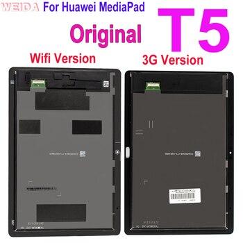 10,1 Оригинальный ЖК-дисплей для Huawei MediaPad T5 AGS2-L09 AGS2-W09 AGS2-L03 ЖК-дисплей сенсорный экран дигитайзер сборка