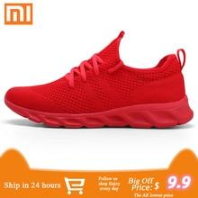 Xiaomi/мужская повседневная обувь; Мужская Спортивная обувь; дышащая обувь; Sapato Masculino; Легкие мужские кроссовки; удобная мужская обувь для бега