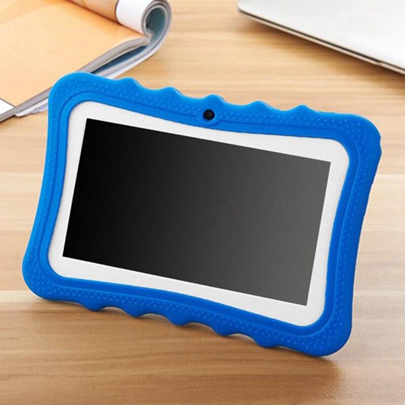 Tableta para niños de 7 pulgadas, cámara doble, Android, WiFi, juego educativo, regalo para niños y niñas, enchufe de EE. UU. - 2