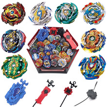 2019 New Tops Beyblades Arena Launchers Toys Toupie B-131 Explosion Metal Avec Lanceur God Spin Top Toy stephen l nelson quickbooks 2018 for dummies
