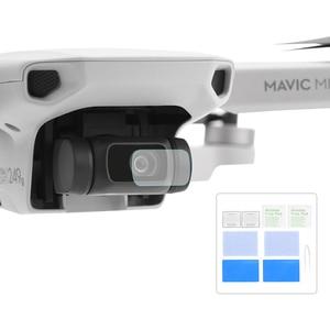 Image 1 - 2PCS protezione dellobiettivo della fotocamera per DJI Mavic Mini/Mini 2 Drone Kit di accessori protettivi per pellicola in vetro temperato antigraffio HD