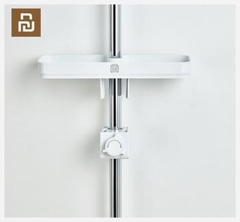 Dabai Portable Bathroom Showers Storage Rack Towel Hanging Shelf Hanging Storage Rack DIY Organization With Hook