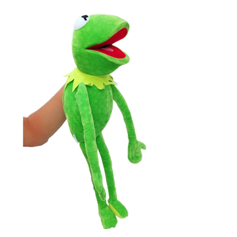 VIP Sesame Street The Muppet Show 60cm Kermit Frog Puppets Plush Toy Doll Stuffed Toys A Birthday Present For Your Child