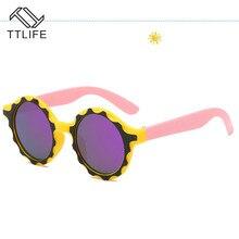 TTLIFE Mirror Kids Sunglasses Boys Girls Polarized Safety Sun Glasses Gift For Children Baby Uv400 Gafas Toddler Cute