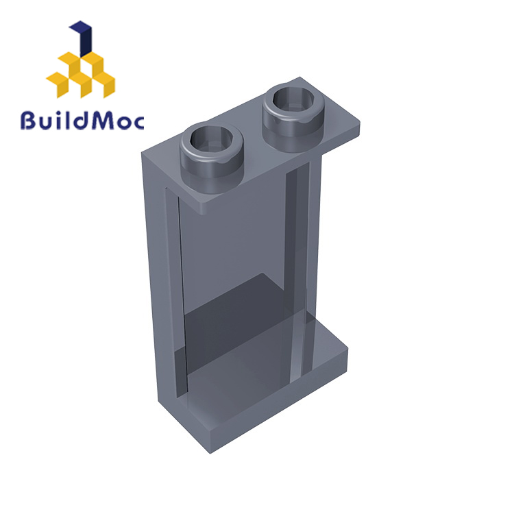 BuildMOC 87544 Panel 1 X 2 X 3 With Side Supports - Hollow Studs For Building Blocks Parts DIY Educational Creative Gift Toys