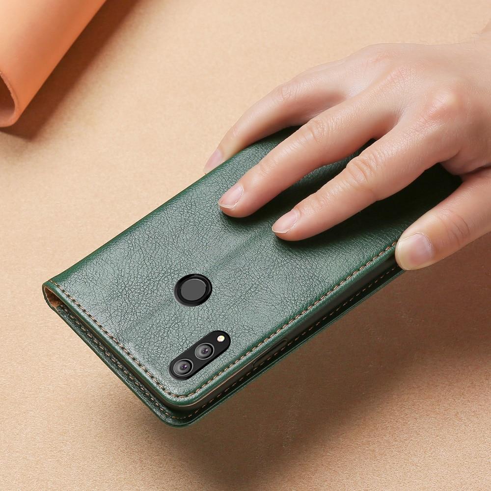 Магнитный чехол для Huawei honore 8X, кожаный чехол из ТПУ, задняя крышка для honor 8X, флип кошелек, чехол с отделениями для карт, чехол для телефона Etui|Бамперы| | АлиЭкспресс