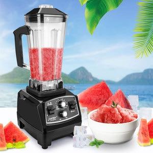 Image 4 - Minuterie sans BPA 3HP 2200W mélangeur Commercial mélangeur presse agrumes puissance robot culinaire Smoothie Bar fruits mélangeur électrique