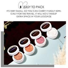 12 Colors Metallic Shiny Eyeshadow Matte Glitter Shimmering Waterproof Powder Powder Palette Long-lasting Eyeshadow S8H2