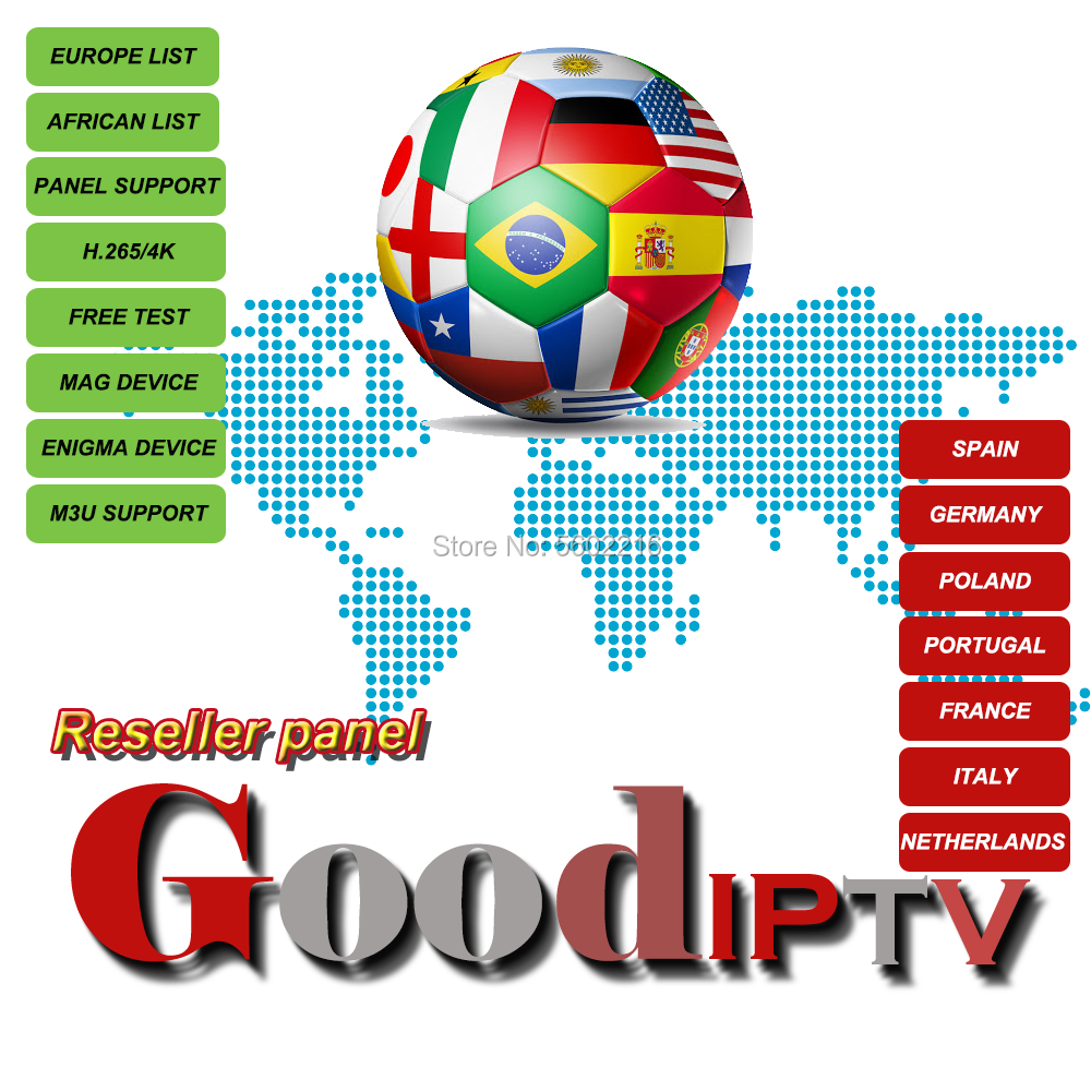 4K Good Iptv H265 Spain Germany Poland Portugal  Italy Netherlands Turkey M3U Cccam Movistar La Liga Campeones Subscription