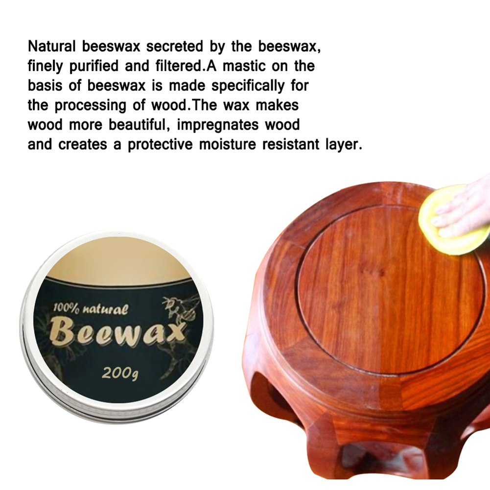 HOT Wood Seasoning Beewax Complete Solution Furniture Care Beeswax Moisture Resistant 20g/200g TI99