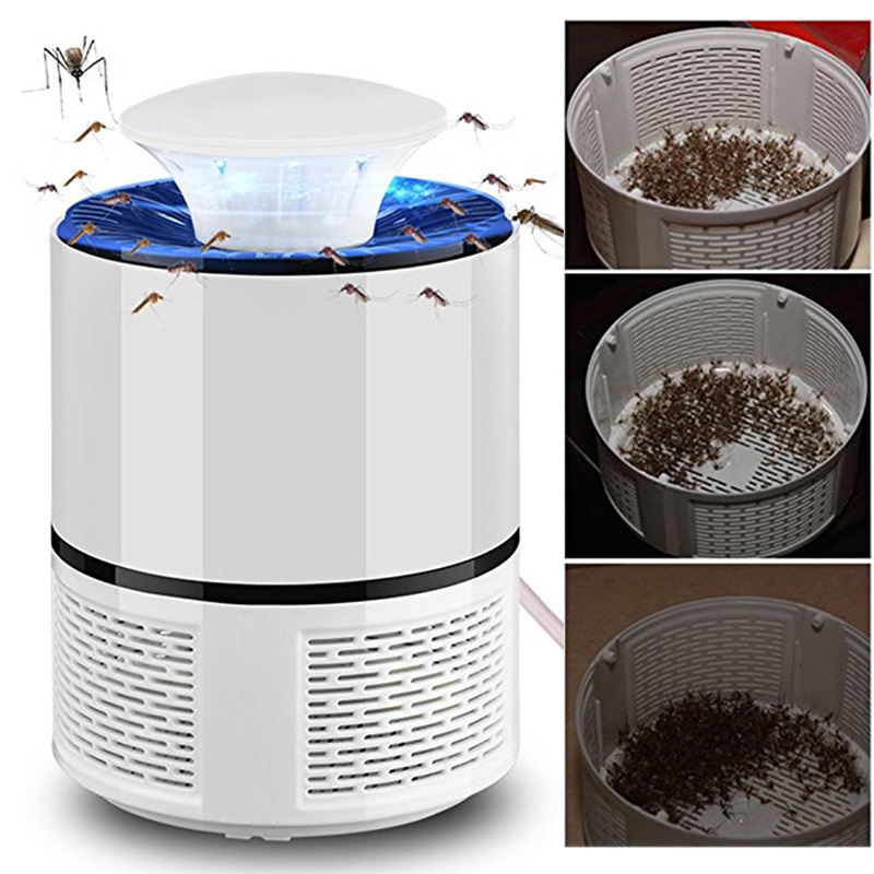 5V USB Charger  Electronic Mosquito Killer Zapper LED Durable Bed Room Outdoor Pest Controll Indoor 5W Mosquito Trap Light UV
