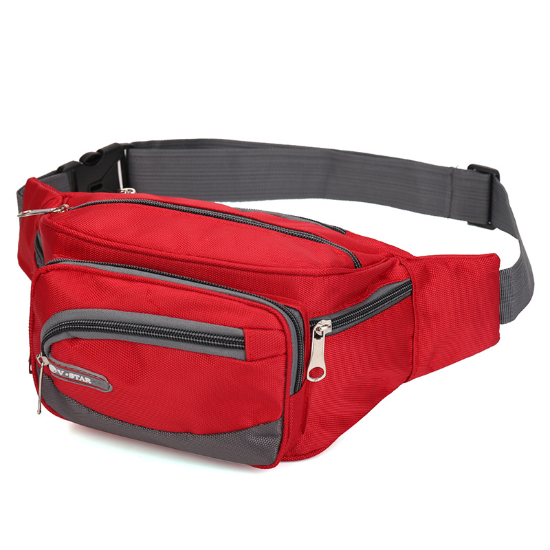New Style Outdoor Sports Oxford Cloth Multi-functional Practical Wallet Business Cash Storage Money Bag Travel Sports Waist Pack