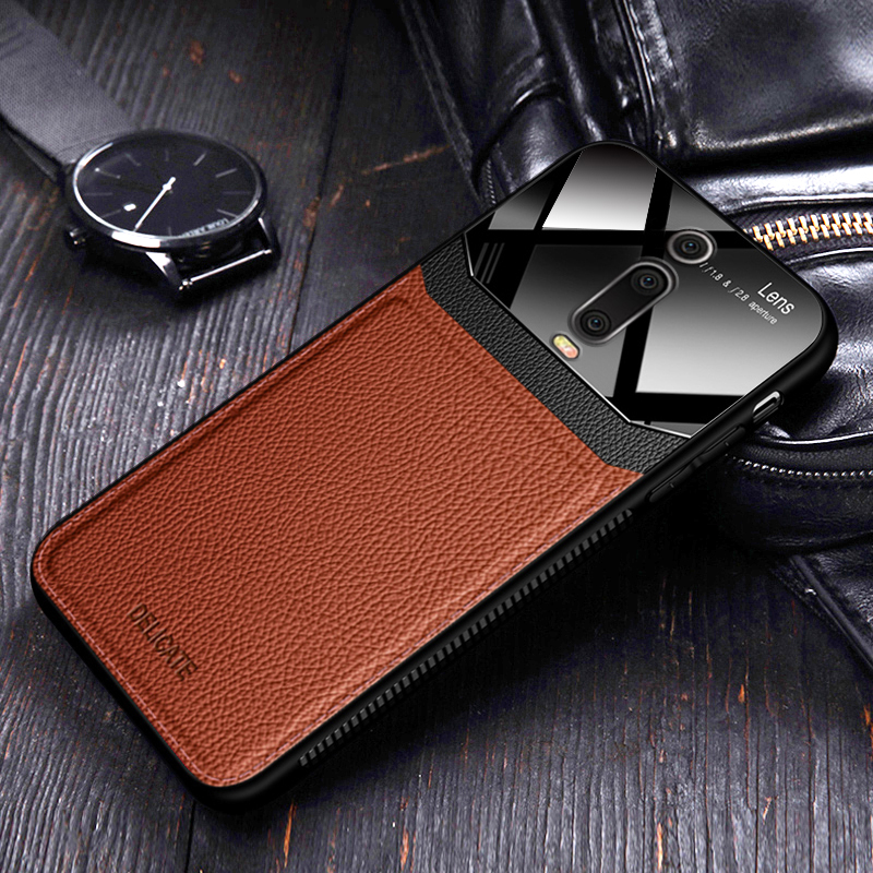 I coque cover case For Xiaomi Redmi K20 Pro Mi 9t mi9T Pro On leather Mirror Innrech Market.com