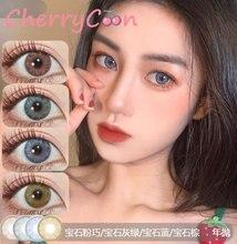 Cherrycon драгоценный камень в виде лепестков розового и зеленого