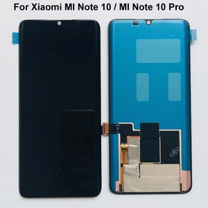 Image 2 - 6.47 New Original Super Amoled For Xiaomi MI Note 10 /MI note 10 Lite LCD Display Edge Screen +Touch Screen Digitizer Assembly