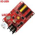 HD-U6BN HD-A40S 3 * HUB12 1 * HUB08 1024*48 1024*32 1024*16 P4.75 P10 одинарными и двойными Цвет светодиодный Дисплей модуль USB светодиодный контрольная карта