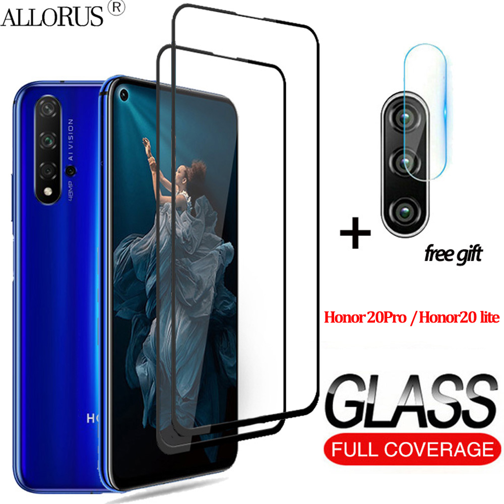 3-in-1 Tempered Glass For Huawei Honor 20 lite honor 20 Pro Screen Protector Honor 30 s Camera glass honor 20 Protective Glass 1