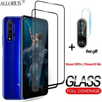 Перейти на Алиэкспресс и купить 2-в-1 3D закаленное стекло на хуавей хонор 20 стекло Huawei Honor 20 lite honor 20 Pro стекло хонор 20 лайт Экран протектор Honor 30 s 30s Камера стекло хонор 20 про сте...