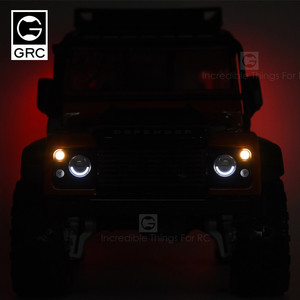 Image 2 - GRC GRC Wireless Linkage SMD Light Set Light Controller 4 Channel Linkage Light Set Suitable for TRX4 T4 Guard Defender