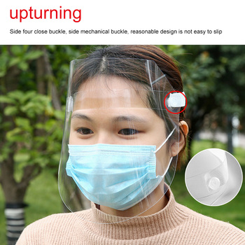 Transparent Anti Dust Mask Anti Pollution Mouth Mask Windproof Mouth-Muffle Bacteria Proof Flu Face Masks Care Washable Reusable