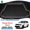 For Land Rover Range Rover Sport 2010 2011 2012 2013 Leather Car Trunk Mat Trunk Boot Mat Liner Pad Cargo pad Carpet Tail Cargo