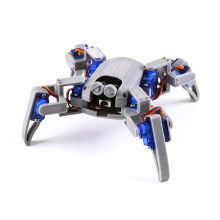 Bionic Quadruped Spider Robot Kit for Arduino,wifi diy, STEM Crawling Robot, ESP8266,NodeMCU,Arduino robot kit