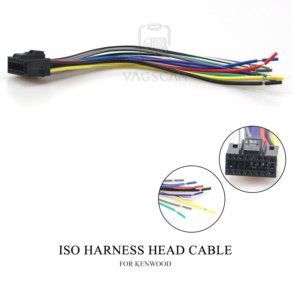 [DIAGRAM_38EU]  15 003 Car Stereo Radio ISO Harness Head Cable for KENWOOD DPX for JVC KD Stereo  Radio Wire Adapter Plug Wiring Connector Cabl|Cables, Adapters & Sockets| -  AliExpress | Kenwood Speaker Wiring Harness Colors |  | www.aliexpress.com