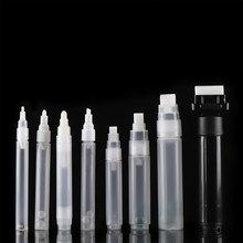 1 pc plástico vazio caneta haste 3mm 5mm 6.5mm 8mm 10mm barris tubo para caneta grafite marcadores de giz líquido tinta caneta acessórios