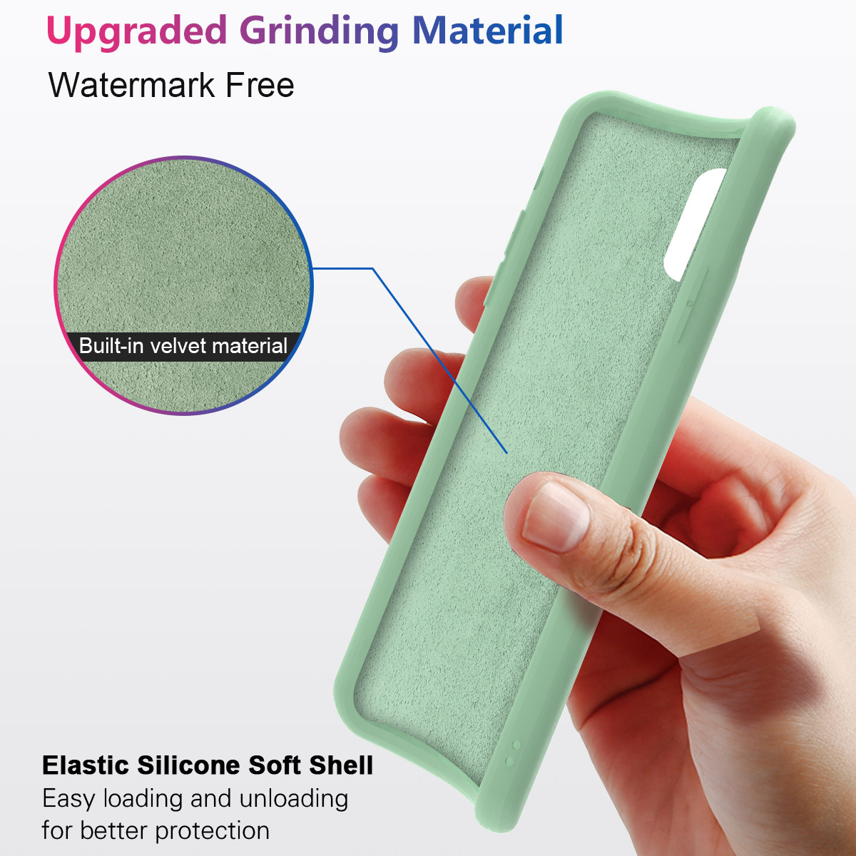 For Xiaomi Redmi K20 Pro 7A Case Soft TPU Built in Velvet Material Protective Cover Redmi K20 Redmi 7A Case Silicone Candy Color in Fitted Cases from Cellphones Telecommunications