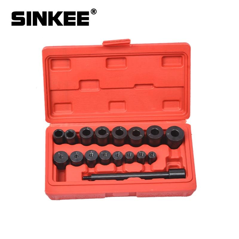 17 шт. универсальный набор инструментов для выравнивания сцепления для всех автомобилей и фургонов автомобильные инструменты SK1054