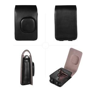 Image 5 - Compact Size Instant Camera Case Tas Compatibel Met Fujifilm Fuji Instax Mini Liplay Pu Leer Met Schouderband