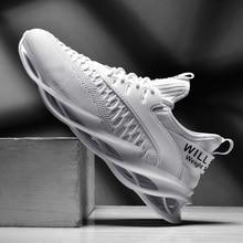 Супер крутая дышащая обувь для бега, мужские кроссовки, уличная спортивная обувь, профессиональная обувь для тренировок, Мужская прогулочная беговая Обувь