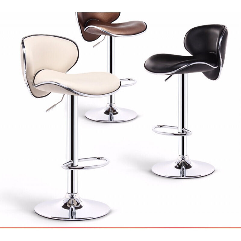 Bar chair lift  front bar stool modern minimalist    high   back