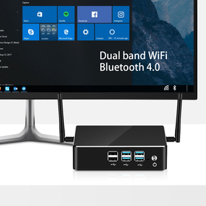 Image 4 - Mini PC Intel Core i7 8550U 8GB/16GB DDR4 512GB SSD Windows 10 Gigabit Ethernet 2.4/5.0G WiFi Bluetooth 8xUSB HDMI VGA 4K HTPC