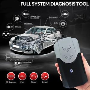 Image 3 - 2021 vd tcs  Obd Obd2 Scanner For Delphis vd   2017 R3 Bluetooth For Car Trucks Diagnostic Tool+8 Pcs Car Cables
