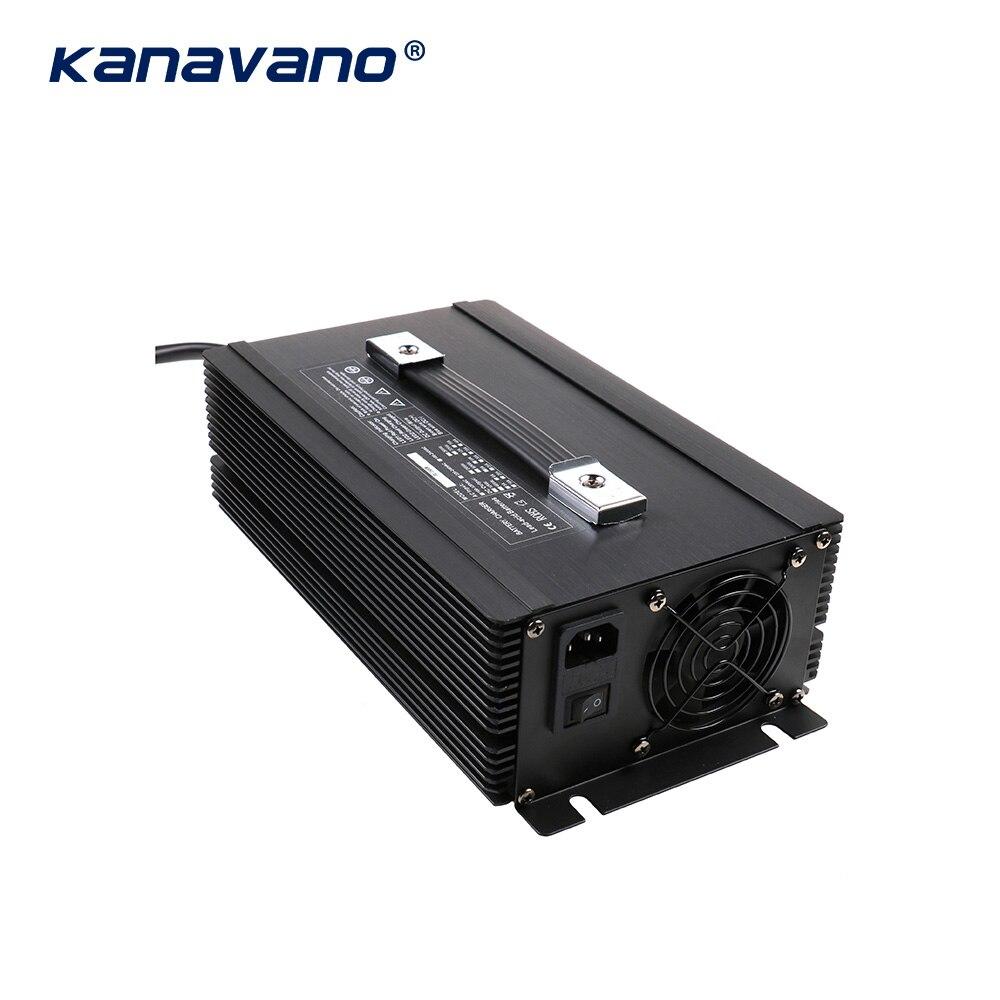 Kanavano nach maß 12v 80a 12,6 V 80A 14,6 V 80A 24V 50A batterie ladegerät 4Serie 1500w für lithium batterie Blei Säure LiFePO4