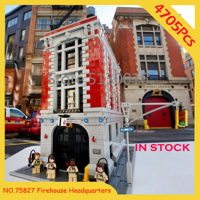 16001 Firehouse Headquarters Creator Street View Model Building Blocks Bricks 75827 10272 45014 21318 15019 15037 15001 15006
