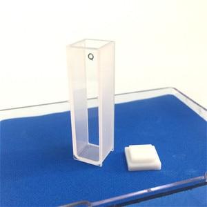 Image 3 - Quartz Cuvette Light Path 10 mm Quartz Absorption Cell 3.5ml Liquid Sample Cell Spectrometer Cell Frit Sintering Technology 2/PK